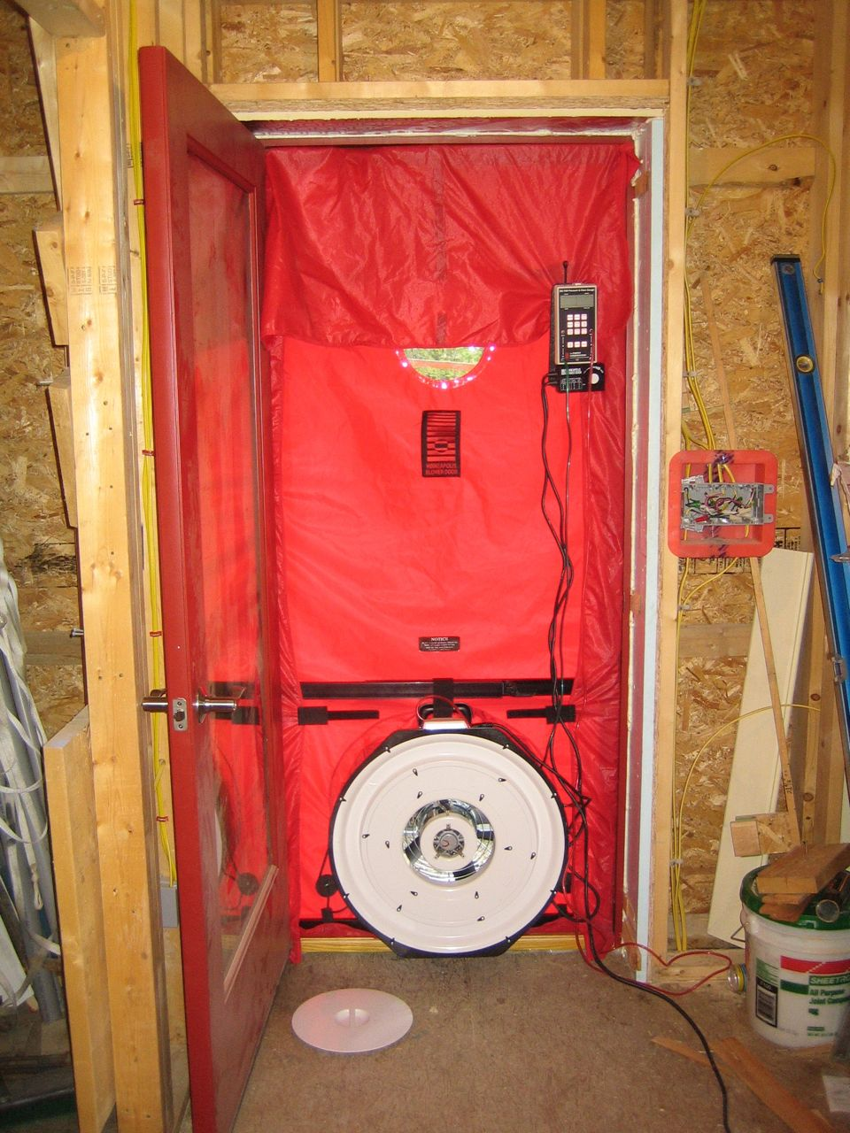 Blower Door Test New Construction Requirements