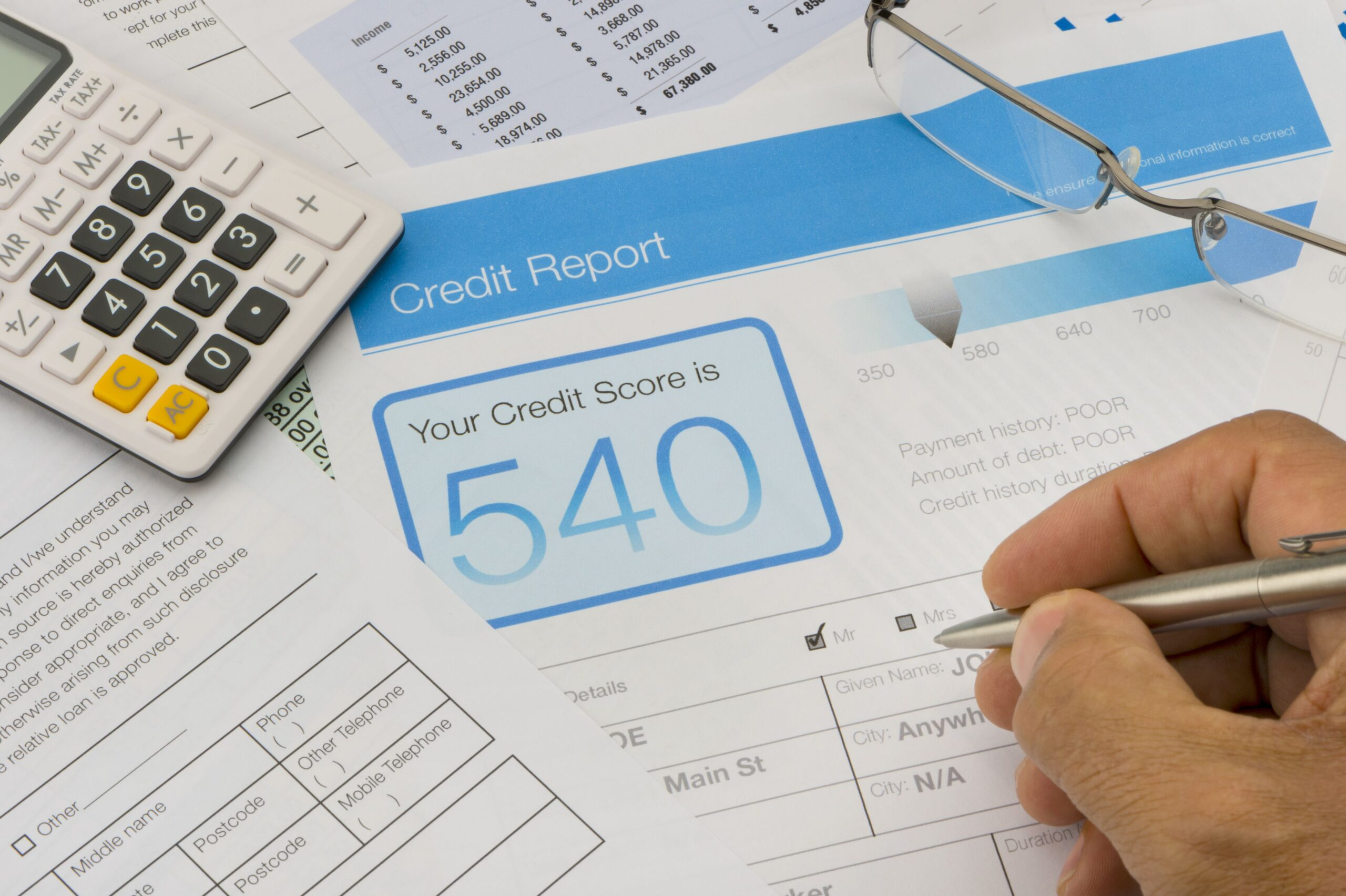 Improve Credit Scores Pay Off Debt